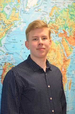 Kevään 2019 ylioppilaskokeissa maantieteessä parhaiten vastannut Jouko Leinonen